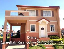 Drina Camella Homes Antipolo Rizal